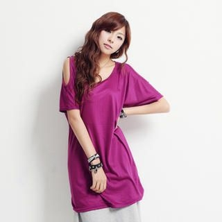 Buy Nalan Girl Ope Sleeve T-Shirt Dress 1023007085
