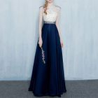 Sleeveless Beaded Evening Gown 1596