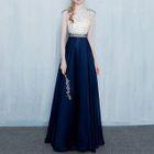 Sleeveless Beaded Evening Gown 1596