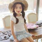 Kids Lace Panel Skirt 1596