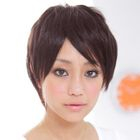Short Full Wig - Straight  Coffee - One Size от YesStyle.com INT