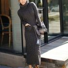 Maxi Cable-Knit Dress 1596