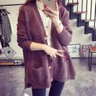 Melange Long Cardigan 1596