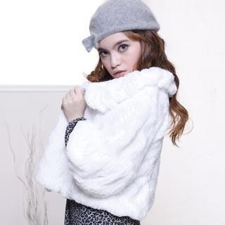 Buy Yammi Faux Fur Cropped Jacket 1021636385