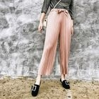 Pleated Straight-Leg Pants 1596