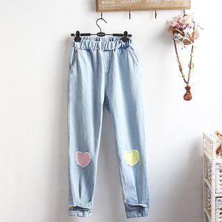 Image of Applique Jeans