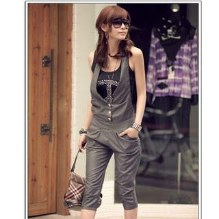 Buy PUFFY V-Neck Jumpsuit 1022849824