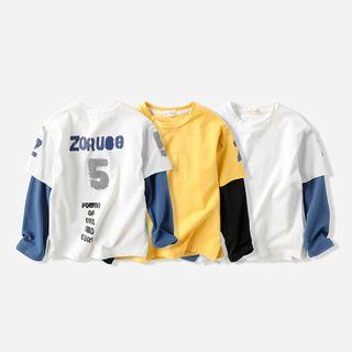 Long-sleeve | Two-Piece | T-Shirt | Kid