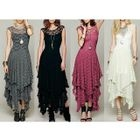 Lace Sleeveless Maxi Dress 1596