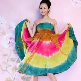 Picture of Nabi Dyed Strapless Dress 1022824340 (Nabi Dresses, Womens Dresses, South Korea Dresses)