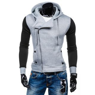 Color-Block Hooded Sweatshirt 1057691881