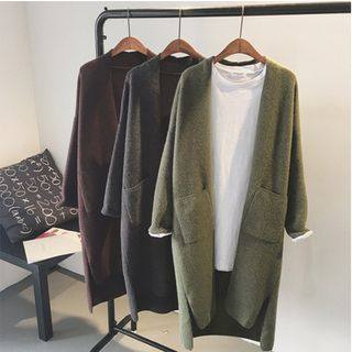 Open-Front Long Cardigan 1061478812