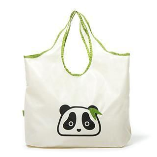 Buy Morn Creations Panda Shopping Tote Beige – One Size 1005196030