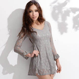 Long Sleeve Lace Dress on Joanne Kitten Long Sleeve Lace Tunic 1022936722  Joanne Kitten Dresses