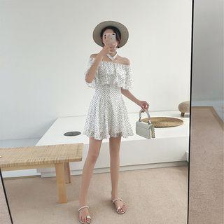Sleeveless | Chiffon | Heart | Dress