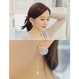 Rhinestone Drop Earrings 1049483057
