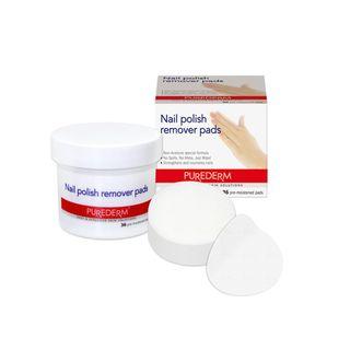 PUREDERM - Nail Polish Remover Pads 36pcs