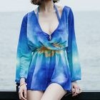 Set: Bikini + Printed Cover-up 1596