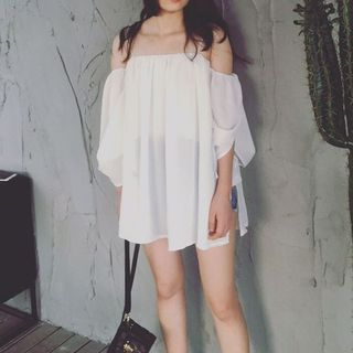 Chiffon   Dress   Mini
