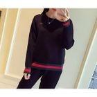 Set: Stripe Knit Top + Pants от YesStyle.com INT