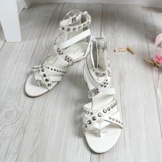 Buy CLICK Studded Gladiator Sandals 1022796852