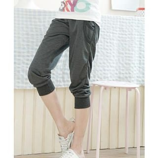 Buy Tokyo Fashion Banded-Hem Cropped Sweatpants 1023062915