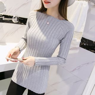 Ribbed Knit Top 1049894810