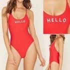 Lettering Swimsuit 1596