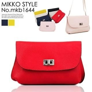 Buy Mikko Genuine Leather Clutch with Cross Strap 1022958906