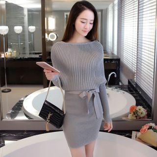 Ribbed Knit Dress 1055703147