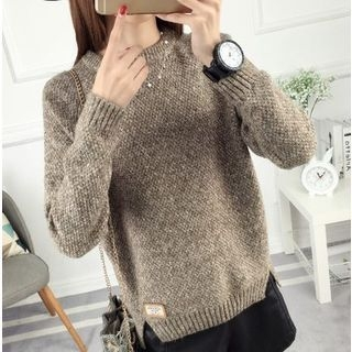 Slit Side Thick Sweater 1057075783