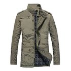 Stand-Collar Padded Zip Jacket 1596