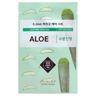Image of Etude House - 0.2 Therapy Air Mask 1pc (23 Flavors) Aloe