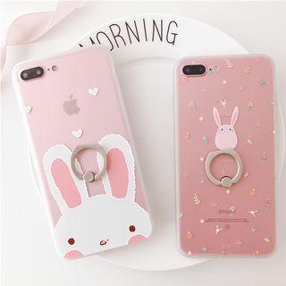 Rabbit Ring Holder Phone Case - Apple iPhone 6 / 6 Plus / 7 / 7 Plus / 8 / 8 Plus / X 1064406466