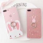 Rabbit Ring Holder Phone Case - Apple iPhone 6 / 6 Plus / 7 / 7 Plus / 8 / 8 Plus / X 1596