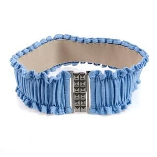 Buy NewYork doll Elasticized Shirred Denim Belt 1023020226