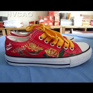 Buy HVBAO  Blossoming Lotus Flowers  Sneakers 1020468944