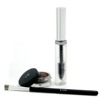 Buy Bare Escentuals – i.d. Essential Brow Kit Brunette (Brow Color + Brow Finishing Gel + Brush)