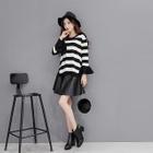Set: Striped Top + Skirt 1596