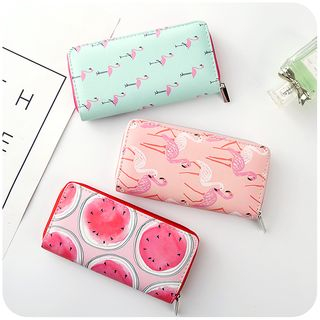 Printed Long Wallet 1059822996