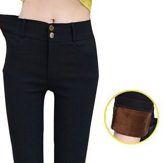 Fleece Lined Skinny Pants 1062843892