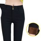 Fleece Lined Skinny Pants 1596