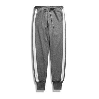 Contrast Trim Sweatpants 1064523917