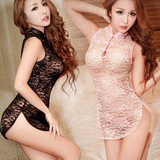 Lace Cheongsam Babydoll 1064899992