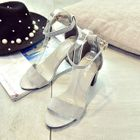 Ankle Strap Chunky Heel Sandals от YesStyle.com INT