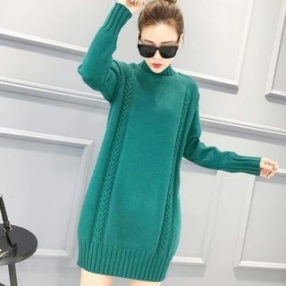 Ribbed Knit Dress 1056130277