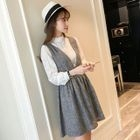 Tie-Waist Jumper Dress 1596