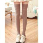 Knit Thigh High Socks 1596