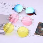 Round Glasses / Colored Lens Round Sunglasses 1596
