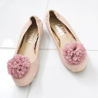 Buy Miss Hong Detachable Rosette Flats 1022423919